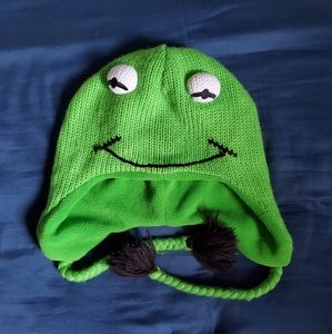 SOLDDivided H&M Muppets Kermit The Frog Beanie Hat